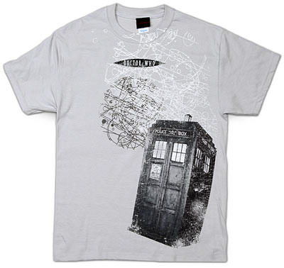 All Over Doctor Who Tardis T-Shirt
