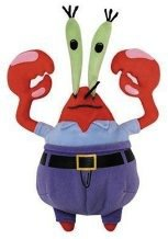 Mr. Krabs plush