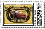 Cars Postal stamp