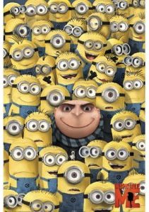 Gru and his Minions Poster