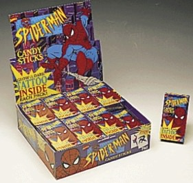 Spider-Man Candy Sticks