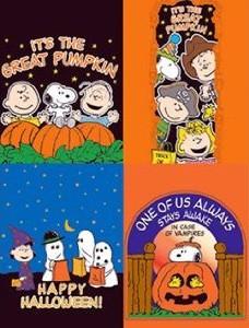 Peanuts Halloween treat bags