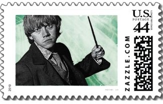 Ron Weasley Postage Stamp