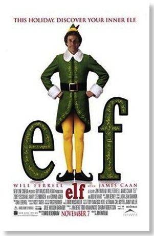 Elf Christmas movie poster