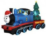 Thomas the train Christmas inflatable