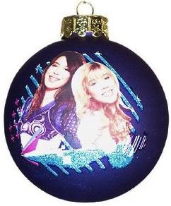 iCarly Christmas Ornament