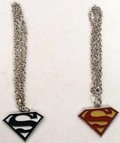 Superman Necklace Set