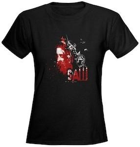 Saw Bear trap t-shirt