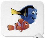 Finding Nemo mousepad with Dory and Nemo