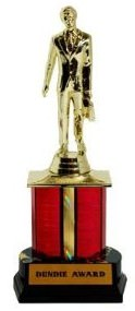 The Office Dundie Award Trophy