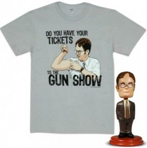 Dwight Tee And Bobblehead