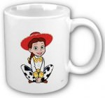 Jessie from toy story on this mug as cowgirl