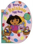 Dora's Rainbow Egg hunt Book that give hours of reading fun for the little once.