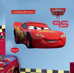 Lightning McQueen Wall Decal