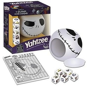... Yahtzee then you are gone love this Nightmare Before Christmas Yahtzee