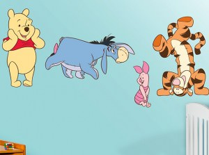 Winnie The Pooh Decal Set