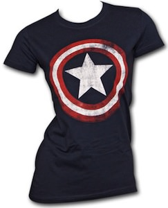 Captain America Shield Baby Doll