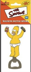 Open your duff beer with a Homer Simpson Bottle Opener