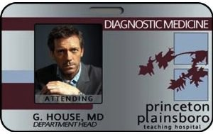 Gregory House ID Card