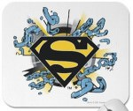 Superman chains logo mousepad