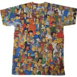Everybody who lives in Springfield is on this Simpsons t-shirt