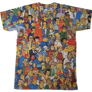 Springfield Crowd T-Shirt