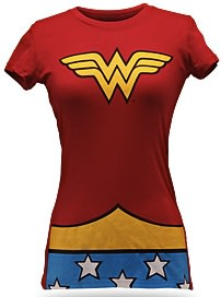 Wonder Woman Babydoll Costume