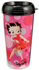 Betty Boop Travel Mug