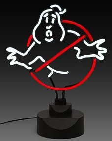 Ghostbusters Neon Sign