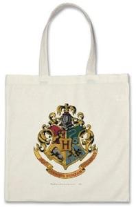 Harry Potter Hogwarts Crest shopping bag
