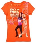 iCarly and Sam together on this orange t-shirt