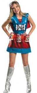 Duff Woman Costume