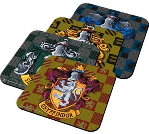 Harry Potter Four Houses Coasters