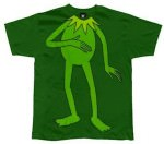 Old Glory Kermit the frog body t-shirt