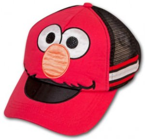 Sesame Street Elmo Mesh Hat
