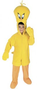 Tweety Kids Fleece Costume