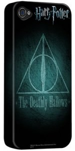 Deathly Hallows Symbol iPhone Case
