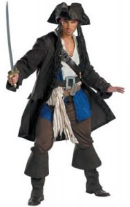 Pirates Of The Caribbean Teen Costume