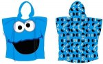 Cookie Monster Hooded towel