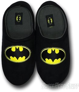 Batman Polar Fleece Slippers