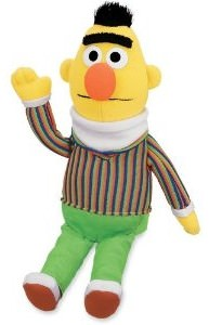 Sesame Street Bert Plush Doll