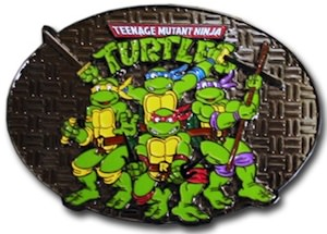 Teenage Mutant Ninja Turtles Belt Buckle