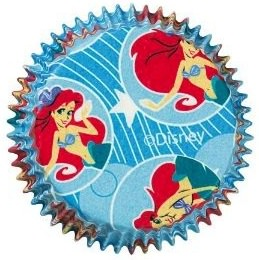 Little Mermaid Baking Cups