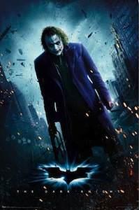 Joker Dark Knight Movie Poster