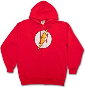 Flash Full Zipper Hoodie