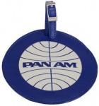 Pan Am Logo luggage tag