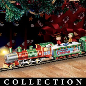 Peanuts Illuminated Electric Christmas Train