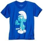 The Smurfs blue kids t-shirt