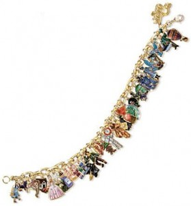 Wizard Of Oz Ultimate 34-Charm Bracelet