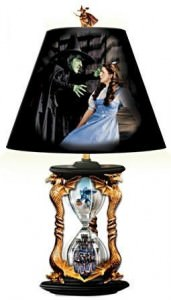 Wicked Witch Hourglass Of Destiny Lamp